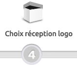 choix réception logo